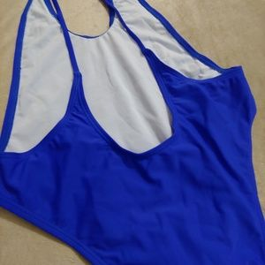 Zaful Swim - NWOT Zaful Sapphire Blue one piece swimsuit M